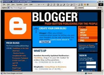 tampilan blogger.com