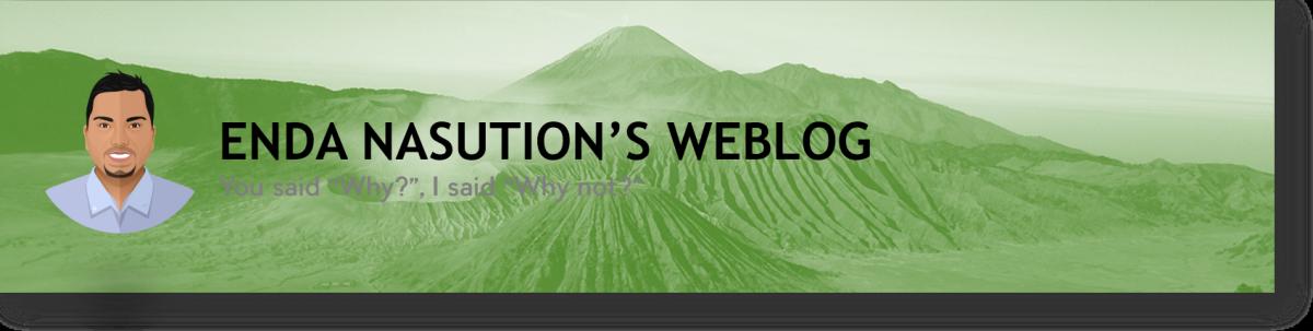 Enda Nasution's Weblog